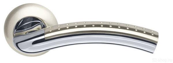 Ручка раздельная Libra LD26-1SN/CP-3 матовый никель/хром купить в Нижнем Новгороде